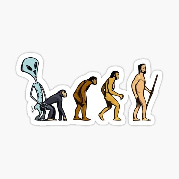 Alien Theory Sticker