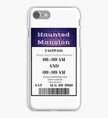 Mansion Fastpass iPhone Case/Skin