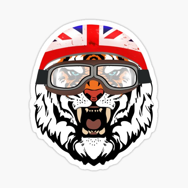 Tiger Racing Sticker