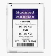 Mansion Fastpass iPad Case/Skin