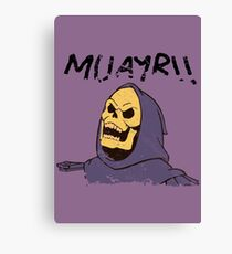 MUAYR!! - Skeletor  Canvas Print