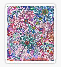 Neuron Doodle Sticker