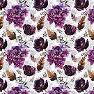 «Flores moradas» de Emma   Reznikova