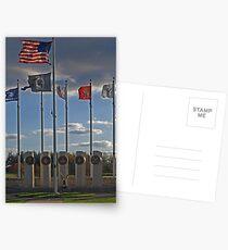 Veterans' Day 2010 Postcards