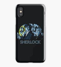 Sherlock - A Study in Blue iPhone Case/Skin