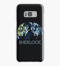 Sherlock - A Study in Blue Samsung Galaxy Case/Skin