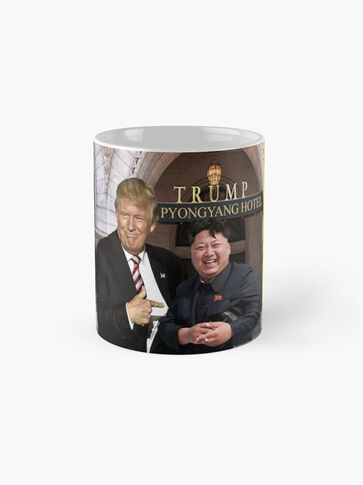 Alternate view of Trump Meets Kim Jong Un Mug