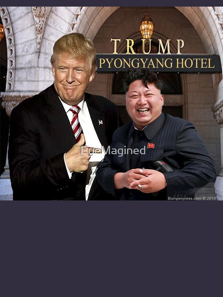 Trump Meets Kim Jong Un by EyeMagined