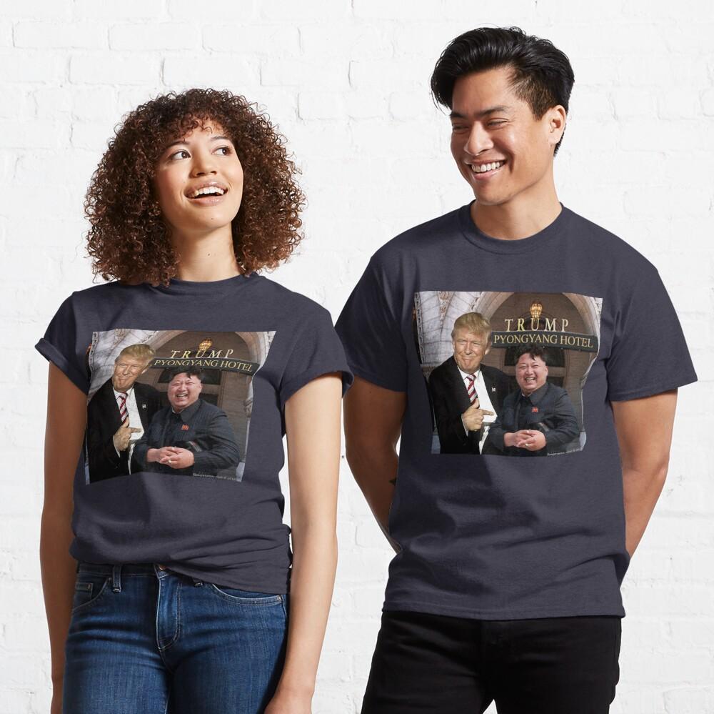 Trump Meets Kim Jong Un Classic T-Shirt