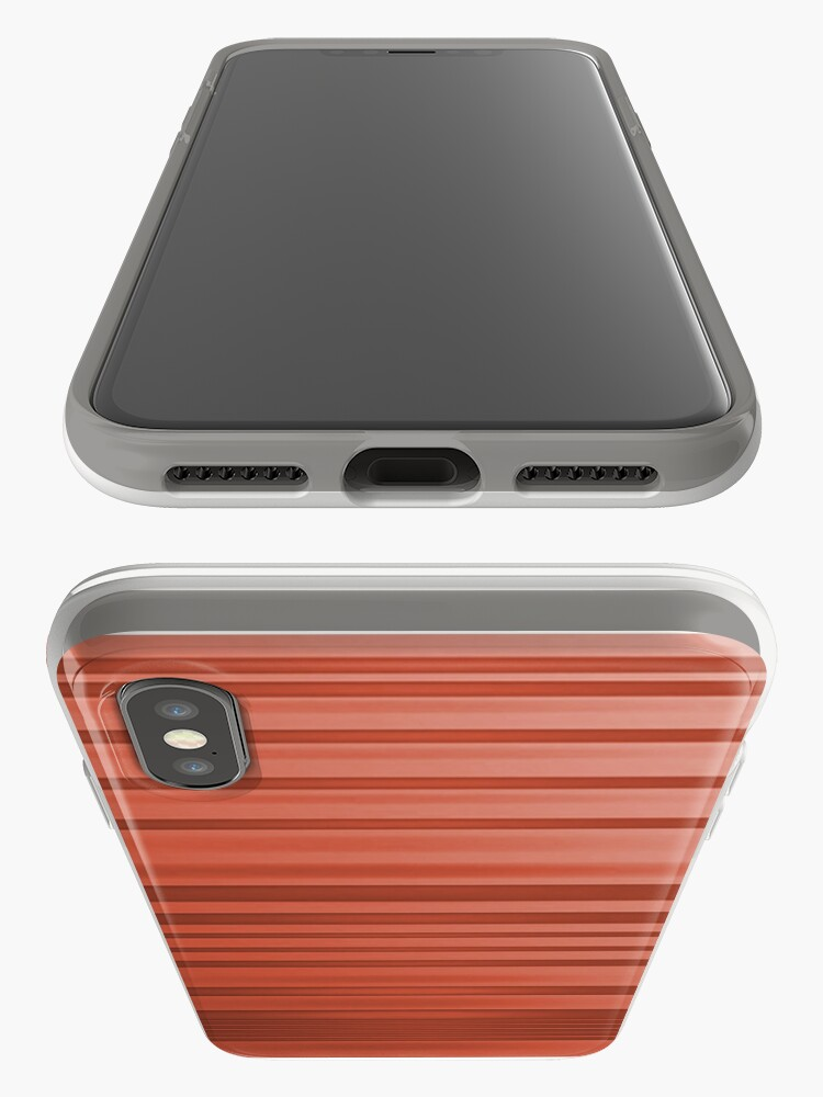 Alternate view of Dusky Red  iPhone Case & Cover