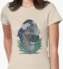 Clever Girl - Blue Women's Fitted T-Shirt