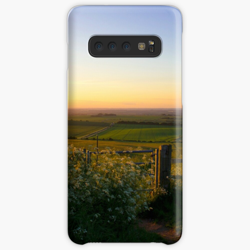 Oxfordshire at sunset from the Downs Case & Skin for Samsung Galaxy