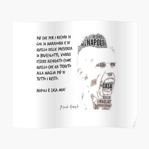 'Marek Hamsik FaceCloud' Poster by Zero81