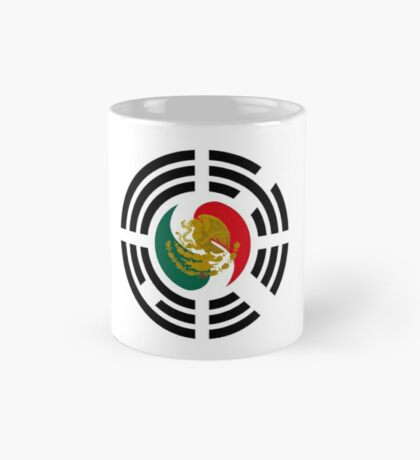 Korean Mexican Multinational Patriot Flag Series Mug