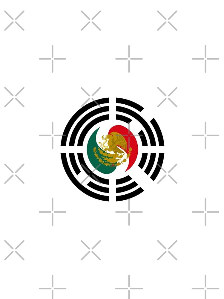 Korean Mexican Multinational Patriot Flag Series by carbonfibreme