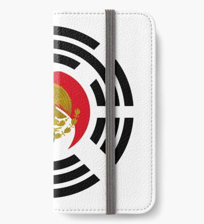 Korean Mexican Multinational Patriot Flag Series iPhone Wallet