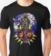 Majora's Mask Stained Glass Unisex T-Shirt