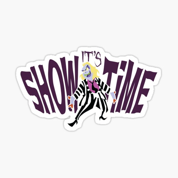 Beetlejuice Sticker Sticker