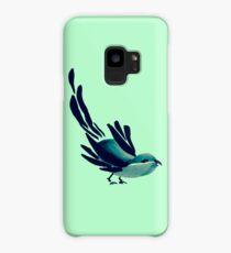 Sumi-e Bird Detail Case/Skin for Samsung Galaxy