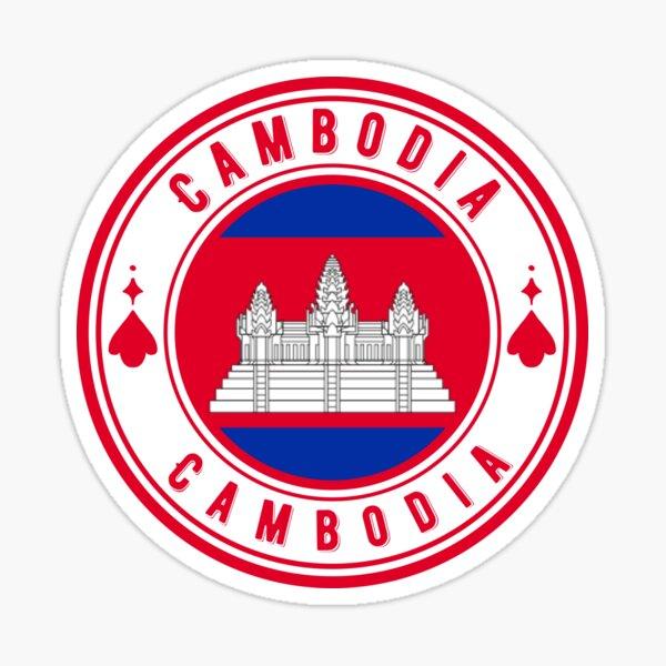 Cambodia - Angkor Wat Siem Reap Sticker