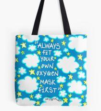 Oxygen Mask Tote Bag