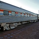 Old Amtrak Heritage Sleeper Coach #2986 - The Pine Mesa by Jack McCabe