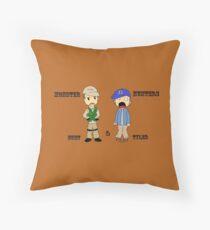 Chibi Burt and Tyler Throw Pillow