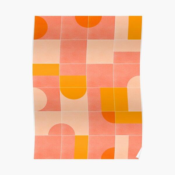 Retro Tiles 03 Poster