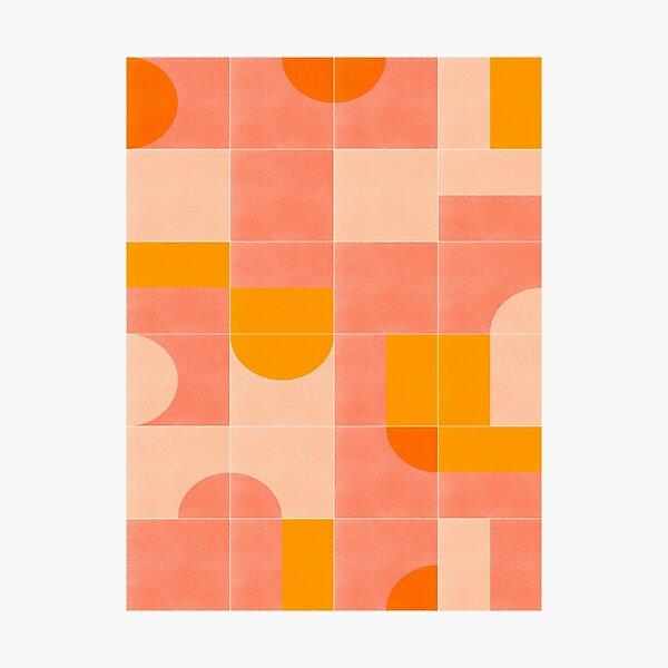 Retro Tiles 03 Photographic Print