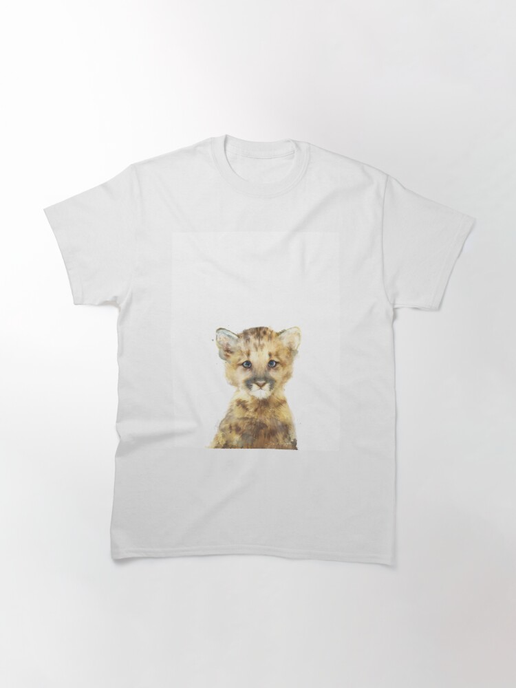 Alternate view of Little Mountain Lion Classic T-Shirt