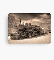 Engine 2645 (Sepia) Canvas Print