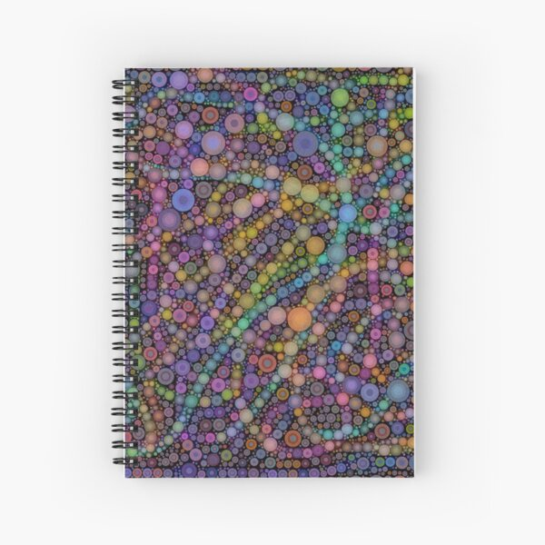 Purple Popettes Spiral Notebook