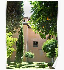 The grandeur of Granada  Poster