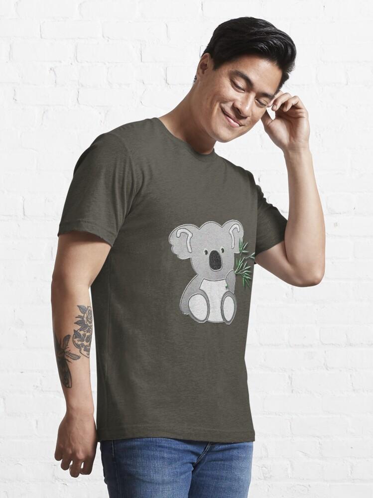 Vista alternativa de Camiseta esencial Oso koala