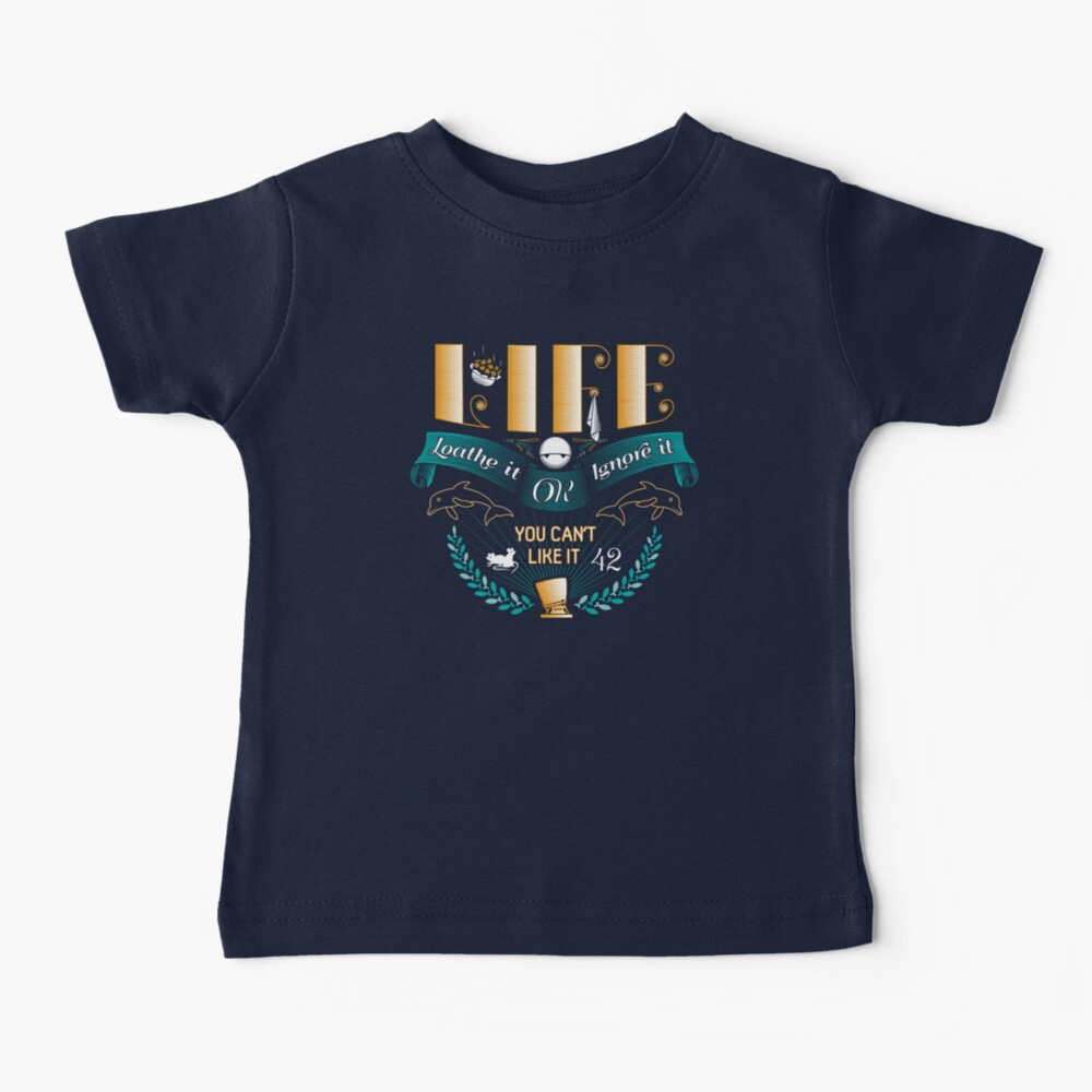 Marvin On Life Baby T-Shirt