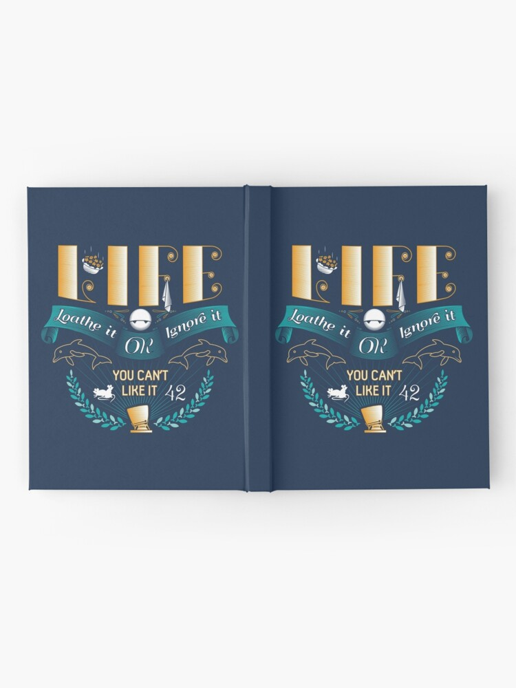 Alternate view of Marvin On Life Hardcover Journal