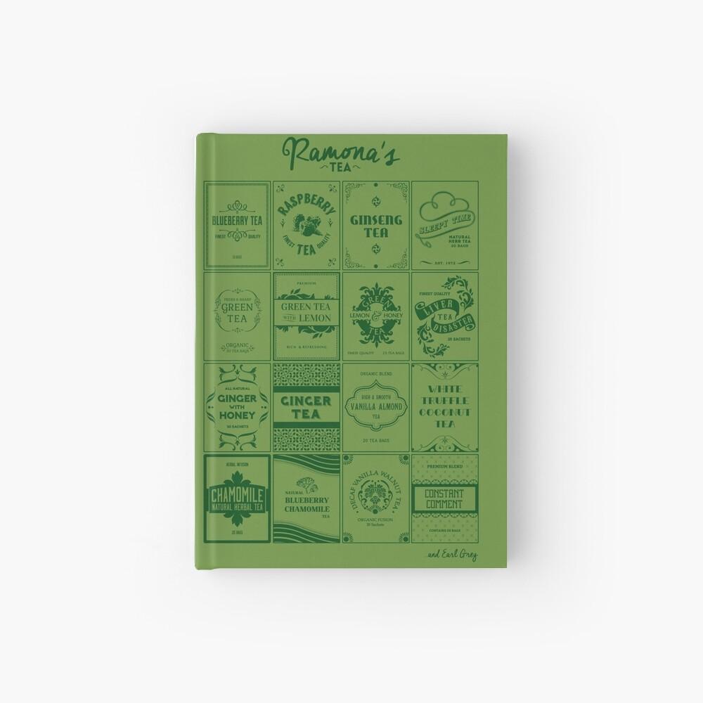 Tea Time with Ramona Flowers Hardcover Journal