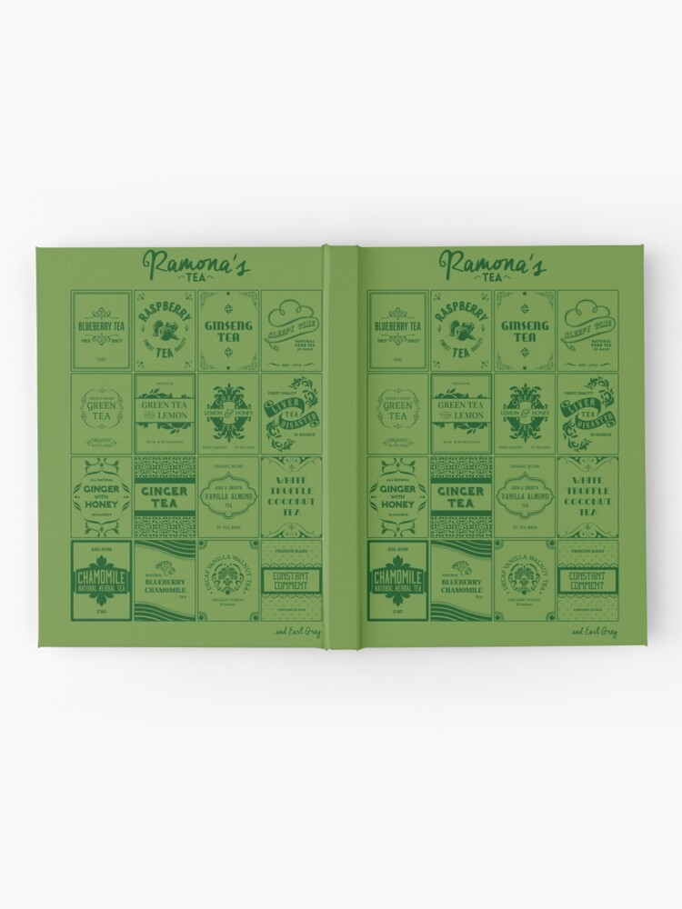 Alternate view of Tea Time with Ramona Flowers Hardcover Journal