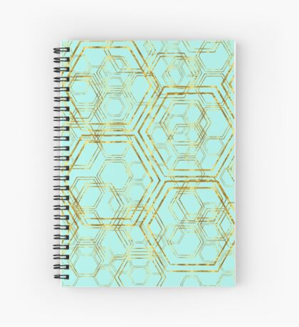 Hexagold Spiral Notebook