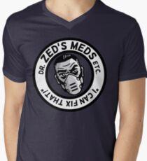 Zed's Meds Mens V-Neck T-Shirt