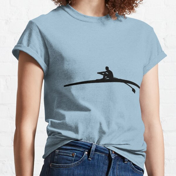Rowing Man Classic T-Shirt