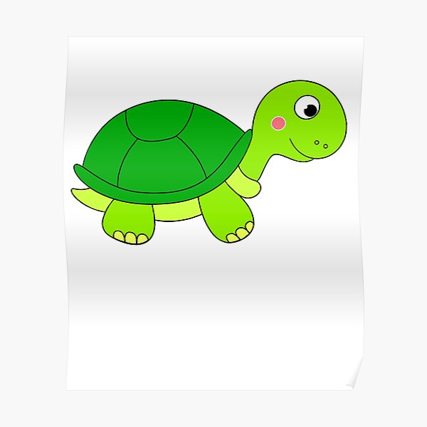 Baby Turtle Posters Redbubble