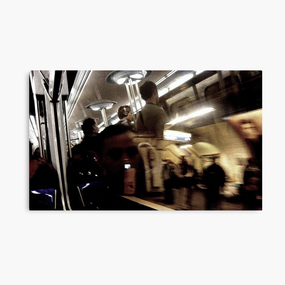 Metro21 Canvas Print