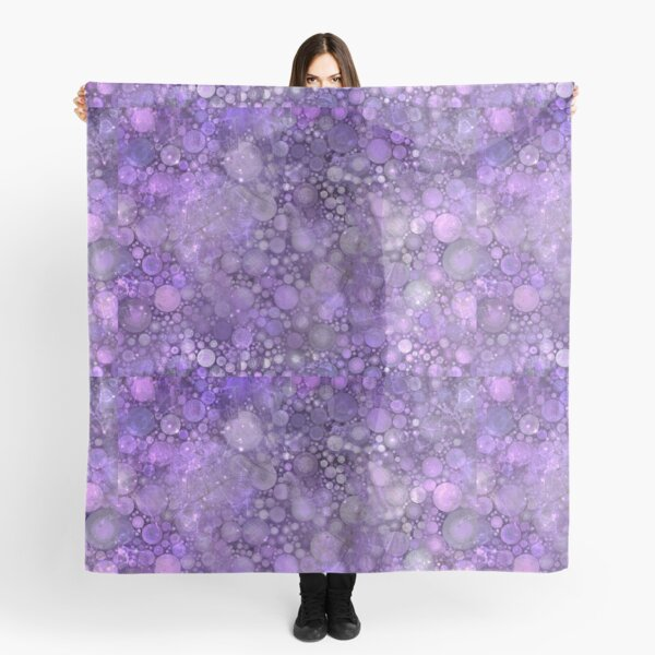 Smudged Purple  Scarf