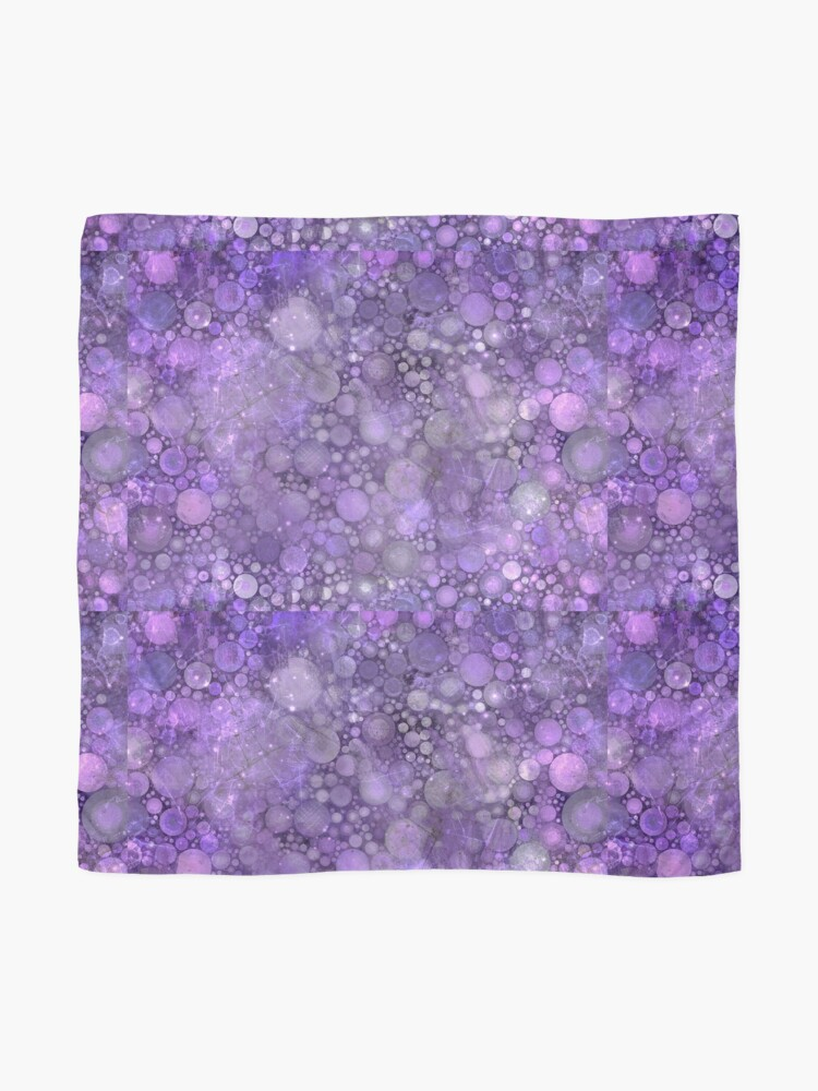 Alternate view of Smudged Purple  Scarf