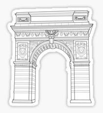Pegatina Arco de la NYU