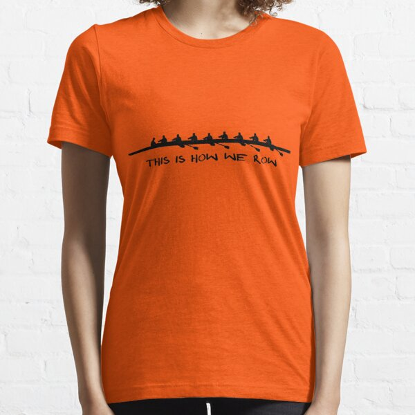 Rowing Coxed eight, men's Crew - we row Essential T-Shirt
