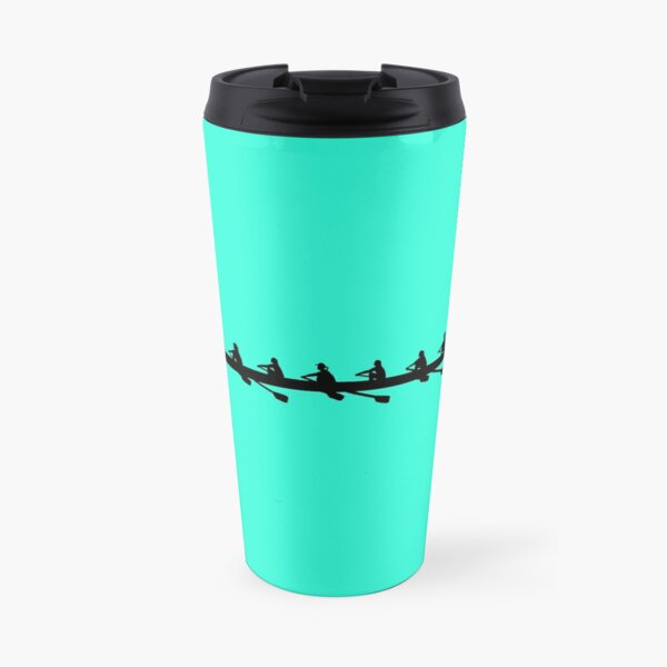 Rowing Coxed eight, Women's Crew Travel Mug