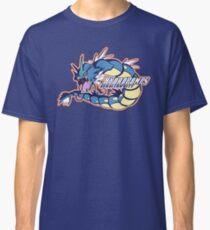 Cerulean City Hydro Pumps: Gyarados Sport Logo Classic T-Shirt