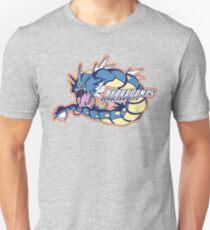 Cerulean City Hydro Pumps: Gyarados Sport Logo Unisex T-Shirt
